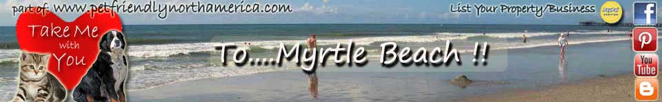 pet friendly myrtle beach
